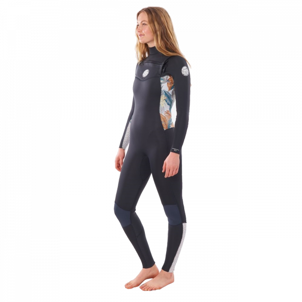 Rip Curl Women Dawn Patrol 5/3 Chest Zip 2020